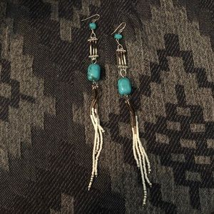 Real Native Maine Porcupine Quill Earrings